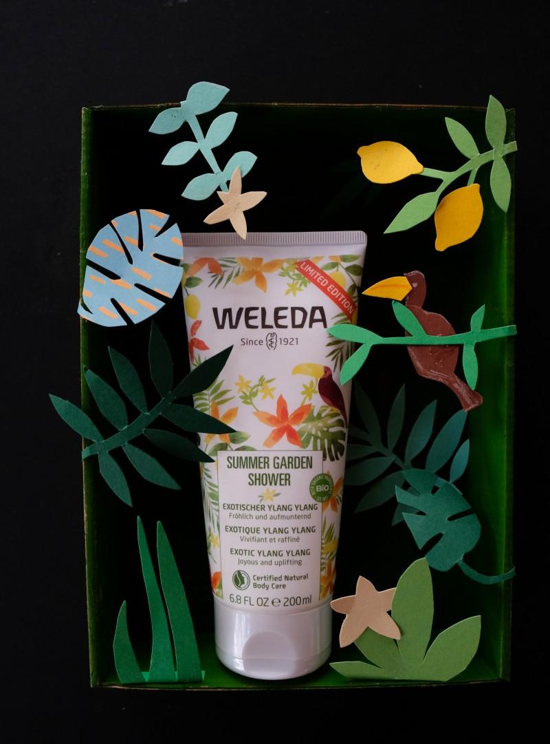 Weleda, Sommer, Sommergeschenkidee, Geschenkidee für Lehrer und Erzieher, Sommergarten basteln, Dschungel basteln,