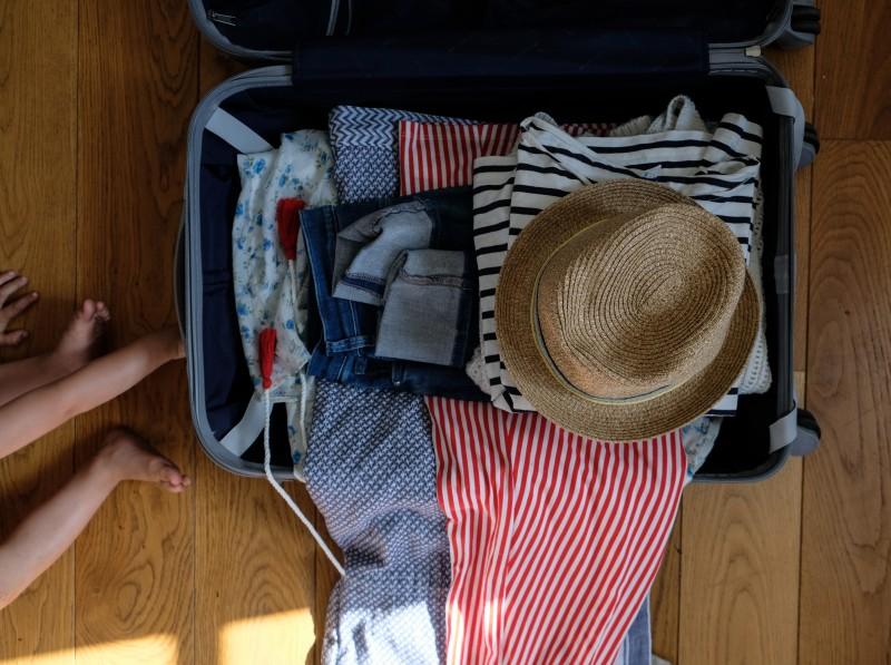 Packen für die Großfamilie, Koffer packen,