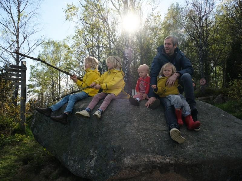 Anhöhe Hultaklint, Wandern in Schweden, Schweden mit Kindern