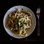 Easypeasy Ferienküche: Zitronen-Pasta mit Brotbröseln und Kapern aus der Toskana