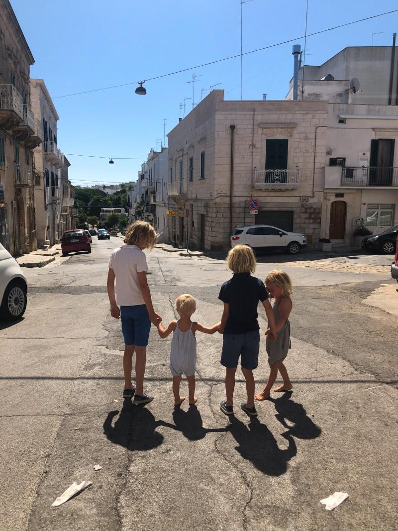 Ostuni, Familienurlaub, Roadtrip mit Kindern