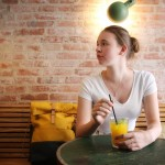 Ein schönes Café bei Kopenhagen und eine Tasche namens Tjelle ..
