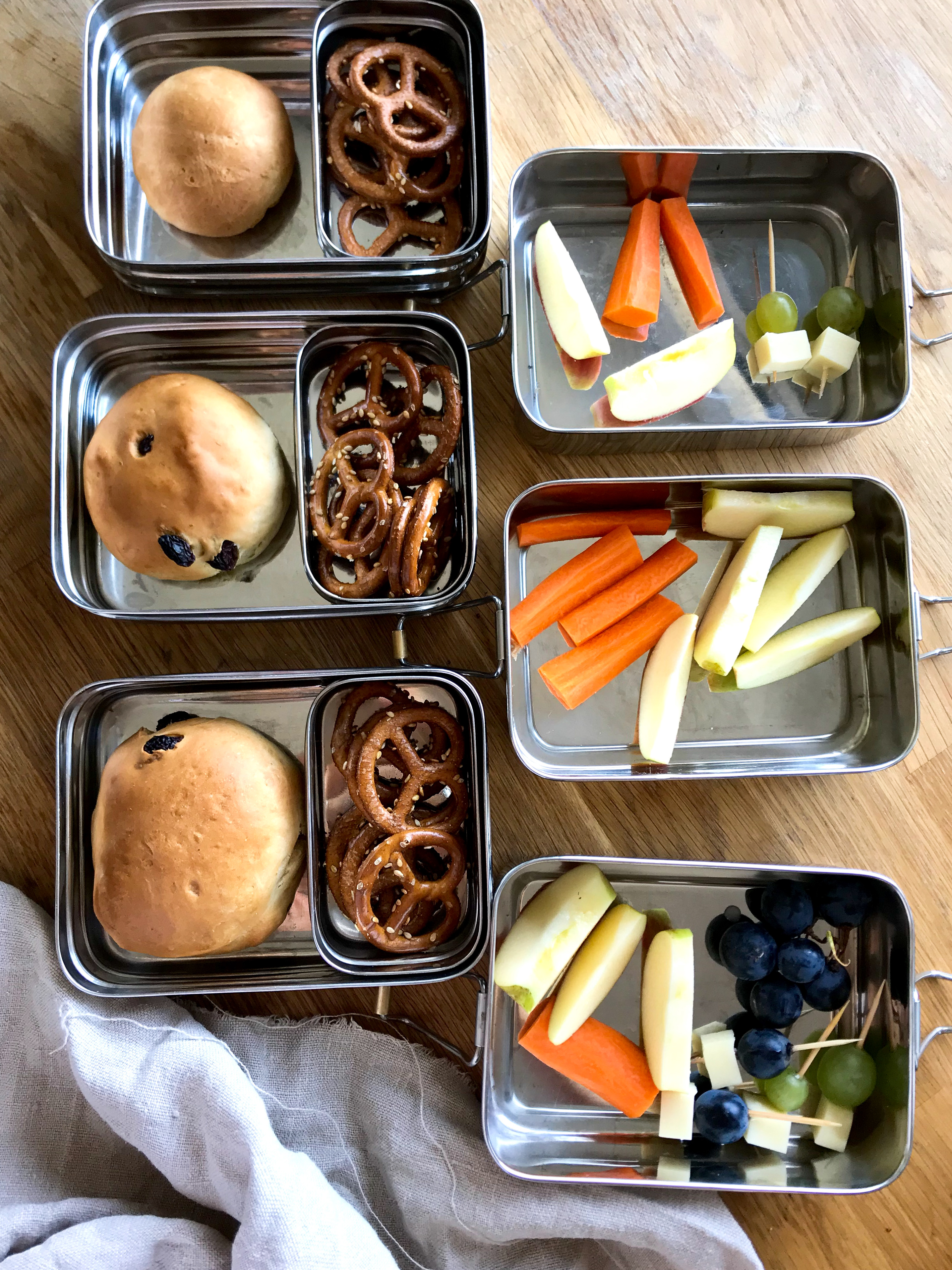 einfache Brotdosen Ideen