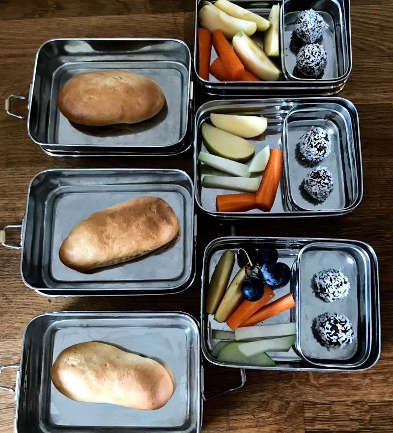 Brotdosen machen ohne Stress