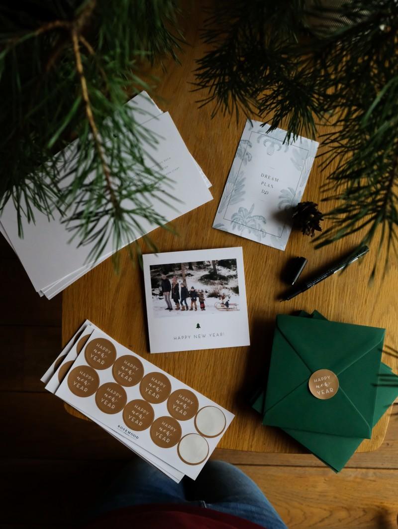Rosemood, Weihnachtskarten