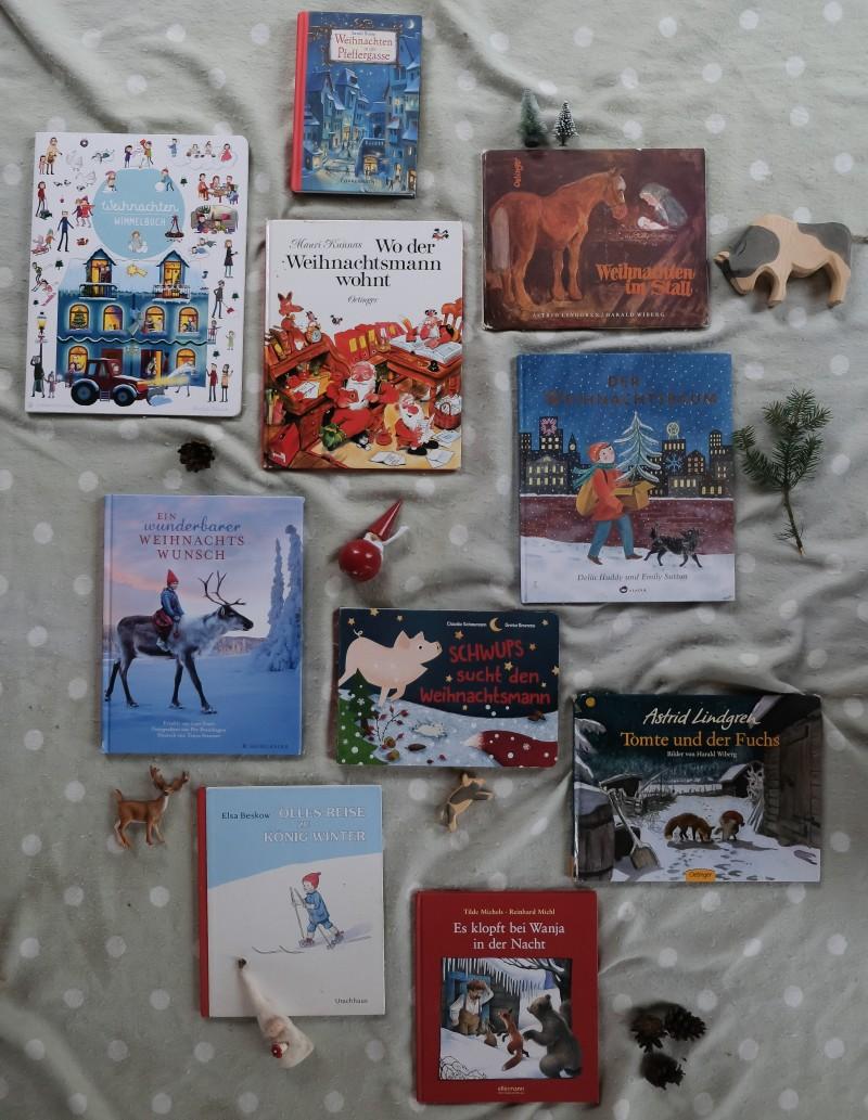 Weihnachtsbücher, Winterbücher