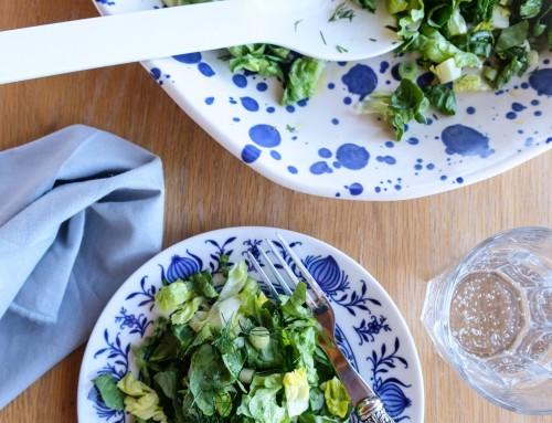 Der Salat-Tausch. Plus ein unglaublich guter Salat mit nur drei Zutaten