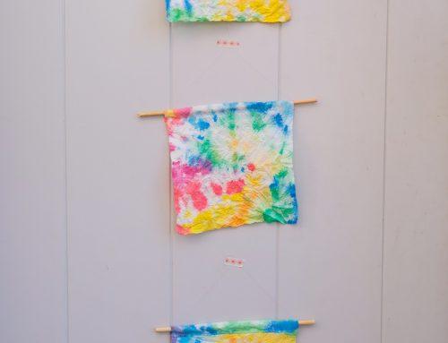 Wir machen Küchenpapier-Batik (und vergessen den ganzen Mist für eine Weile)