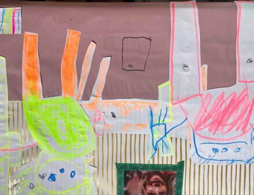 Die Wahrheit über unser Wohnzimmer: Eine tolle Ausstellung in Hamburg und eine kreative Kunstidee für überall