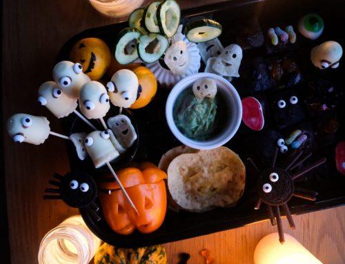 Halloween, hallo Couch: Eine gruselige Snackbox für den Familienkinoabend