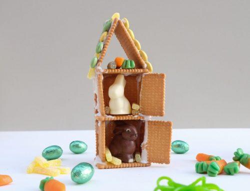 Zu Ostern bauen wir uns ein süßes Hasen-Haus