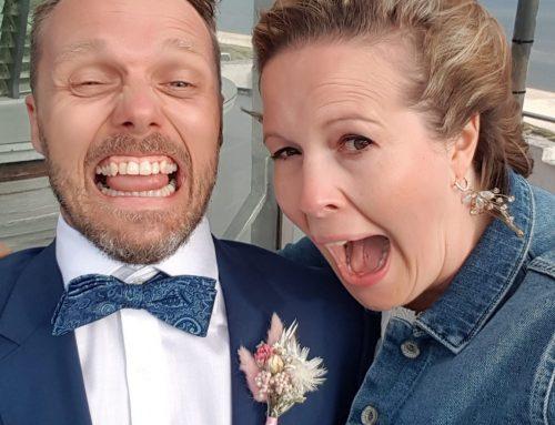 Leuchtturm-Liebe: Eine herrlich entspannte Hochzeit