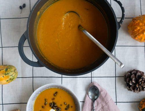 Die leckerste Kürbissuppe in diesem Herbst